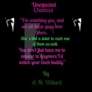 Unexpected Chances Teaser 4